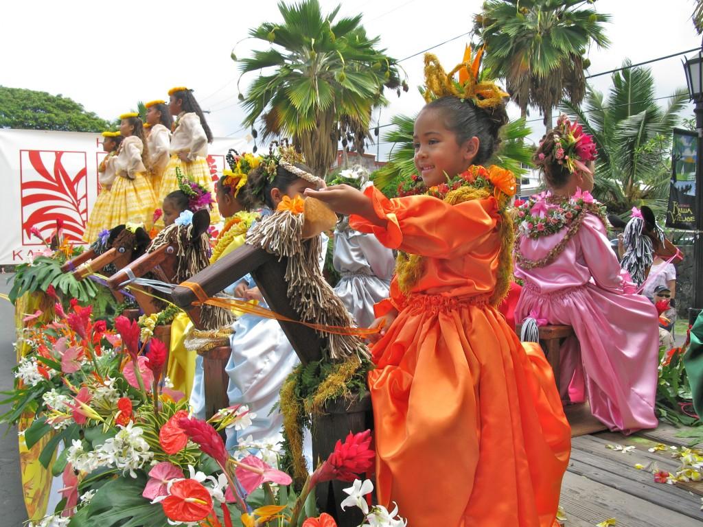 kamehameha day floral parade